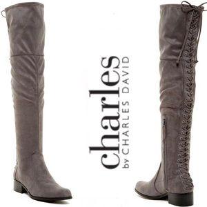 NIB Charles by Charles David Gray Gannon OTK Boots